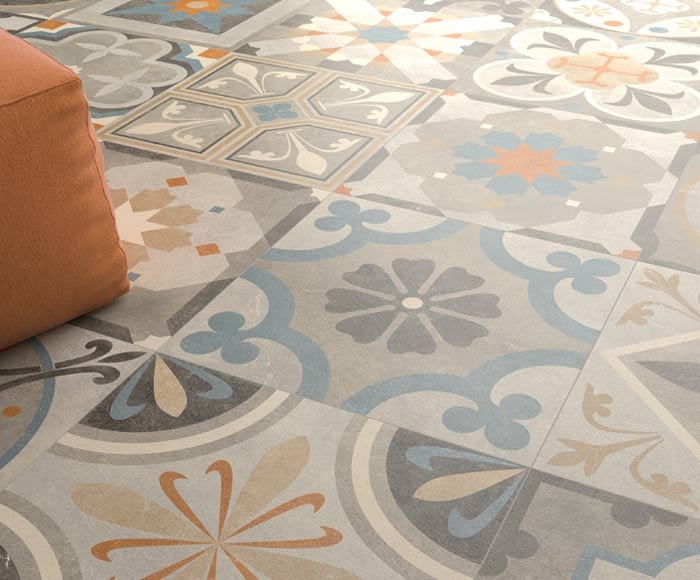 Tiles for architects for Carrelage ceramique ancien