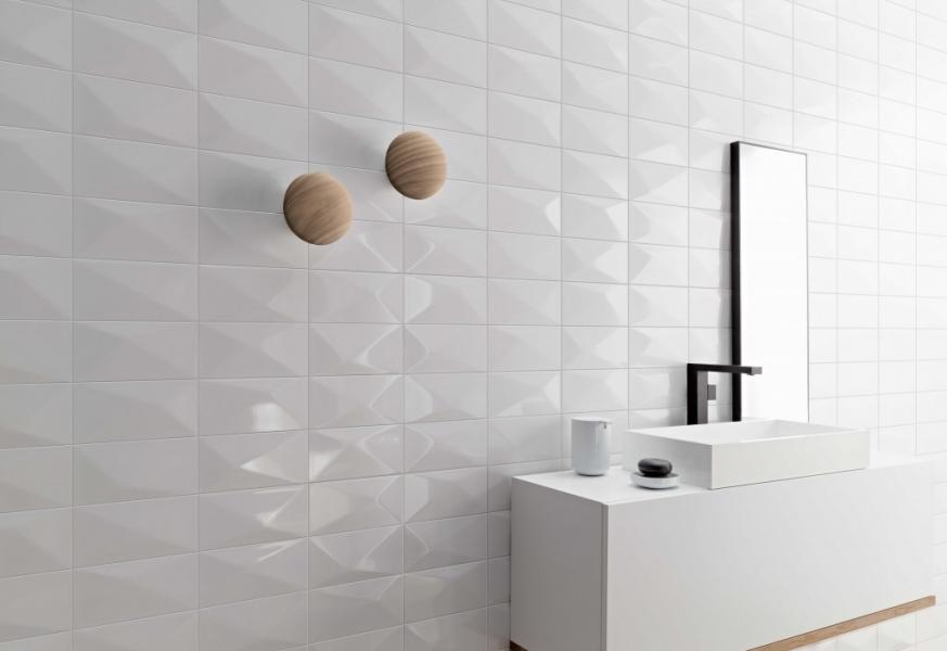 Wonder White Diamond Tiles For Architects
