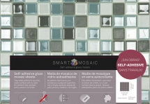 Self adhesive  glass mosaic
