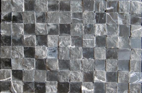 Marble black mosaic