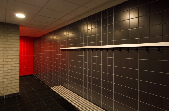 Changing rooms - College