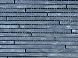 Slate mosaic black